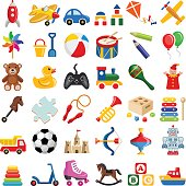 Toy icon collection