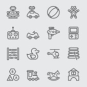 Toy line icon