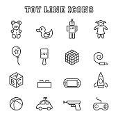 toy line icons