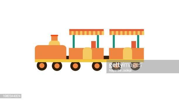 グッズ鉄道アイコン - 模型の汽車点のイラスト素材/クリップアート素材/マンガ素材/アイコン素材