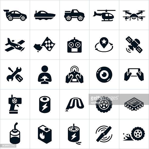 RC giocattoli icone
