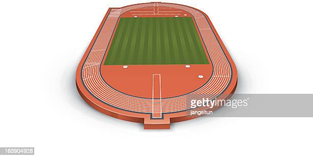 track and field - track and field stock illustrations, clip art, cartoons, & icons
