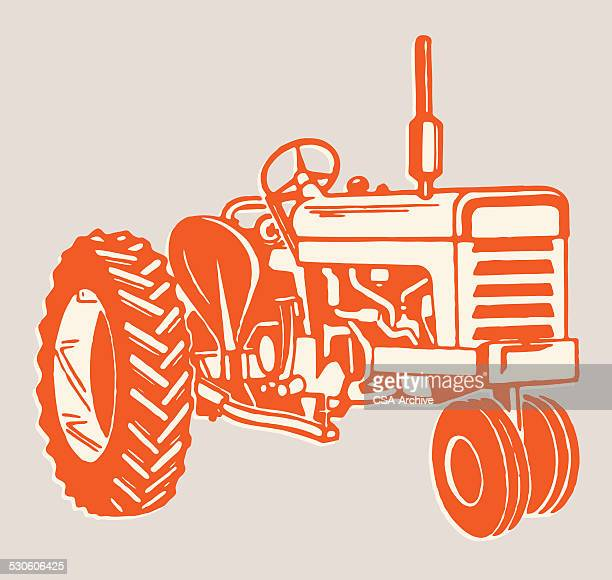 tractor - tractor stock illustrations