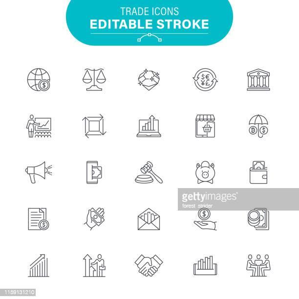 handelssymbole - return stock-grafiken, -clipart, -cartoons und -symbole