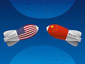 Trade war between China and USA