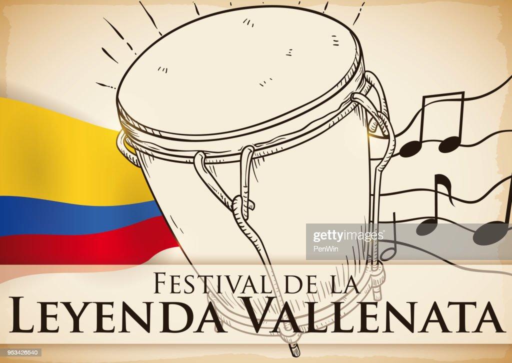 Traditional Caja Vallenata Drum to Perform in Vallenato Legend Festival