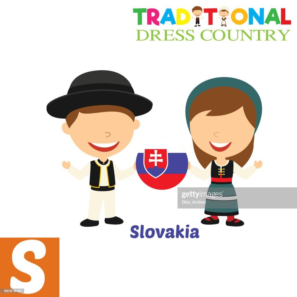 Traditional Dress Country Alphabet