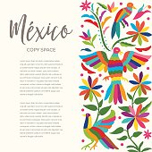 Traditional Mexican Composition - Copy Space