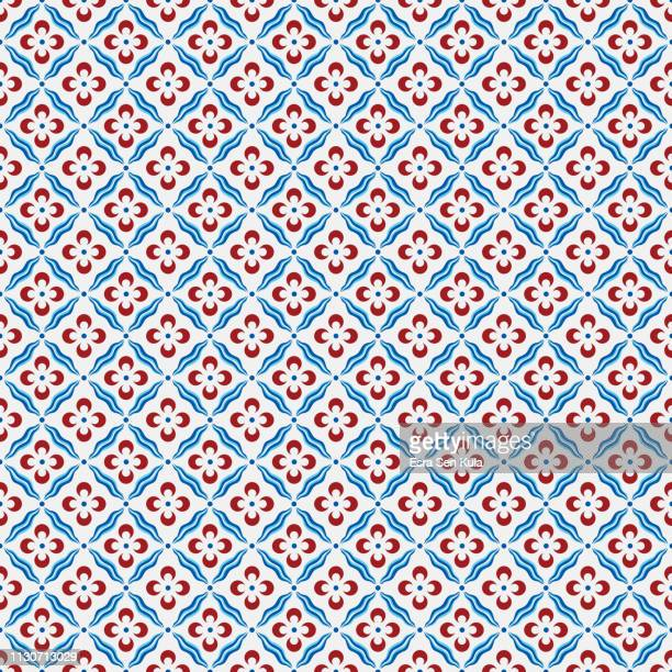 traditional ottoman cintemani seamless pattern - tradition stock illustrations