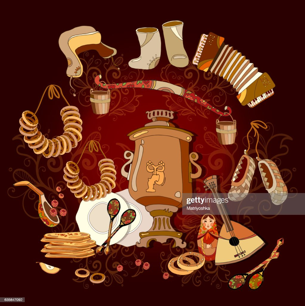 Traditional Russian cuisine and culture