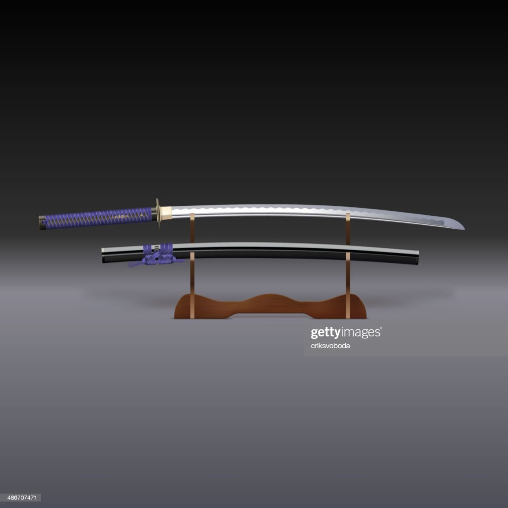 Traditional Samurai Sword