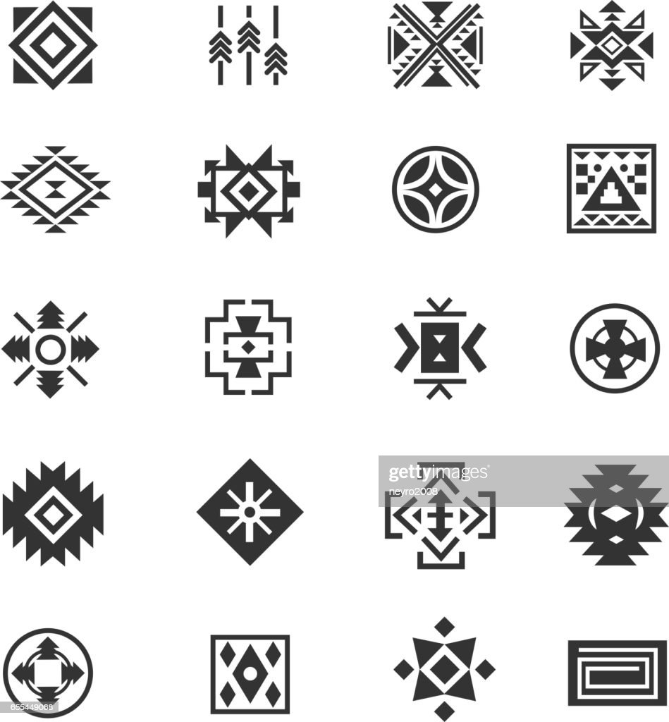Fred my husbands arm navajo design with image result for navajo traditional tribal symbols navajo ethnic culture vector buycottarizona Gallery