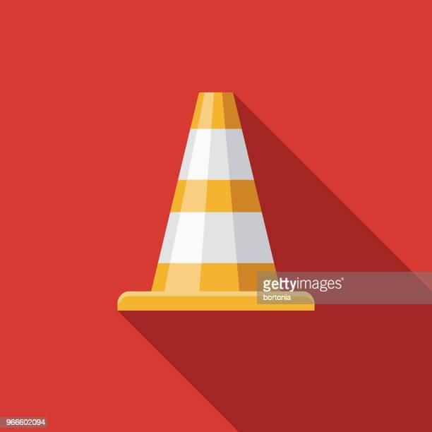 ilustrações, clipart, desenhos animados e ícones de tráfego cone design plano de emergência serviços ícone - serviço de emergência e resgate