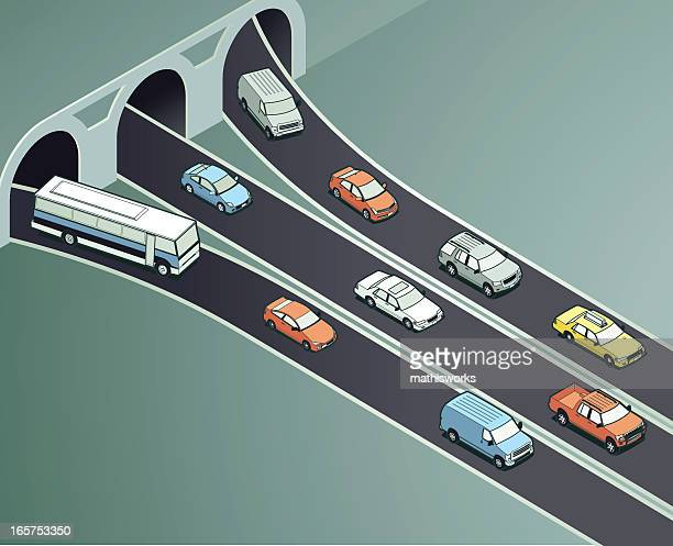 traffic drivers illustration - compact car stock illustrations, clip art, cartoons, & icons