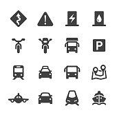 Traffic Icons Set - Acme Series