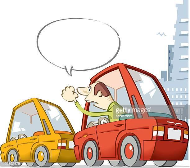 illustrations, cliparts, dessins animés et icônes de embouteillage dans la ville - impatient