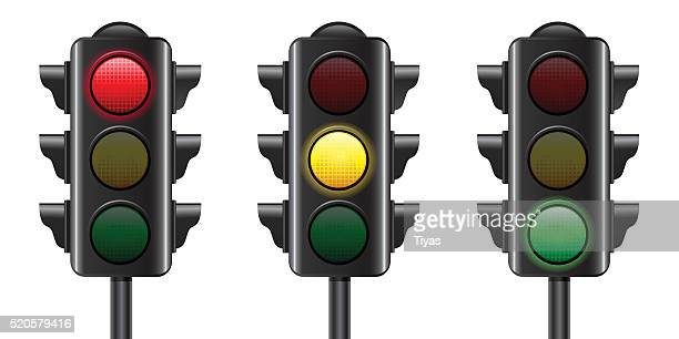 traffic light - stoplight stock illustrations