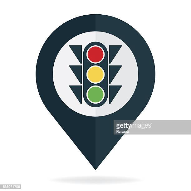 traffic light - road signal stock illustrations