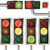 Traffic lights variants