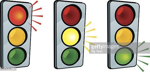 traffic lights - go carting stock illustrations, clip art, cartoons, & icons