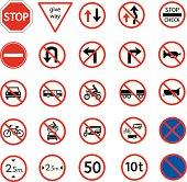 traffic prohibition sign