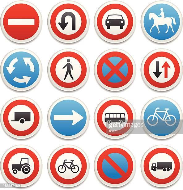 Traffic sign Symbole