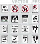 traffic sign road