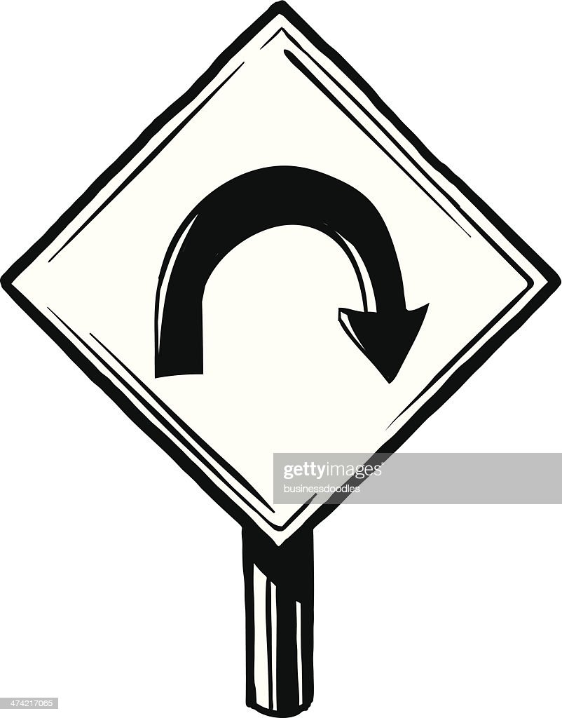 U traffic sign