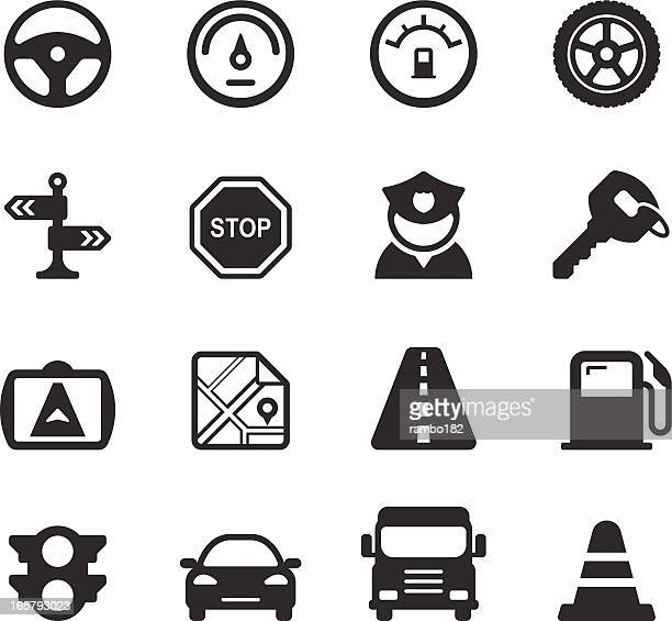 Traffic/Driving Icons