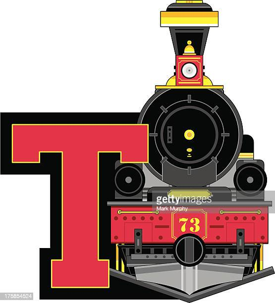 Train Engine Learning Letter T