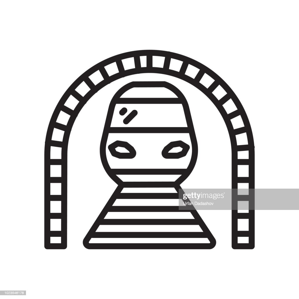 Train icon vector sign and symbol isolated on white background, Train symbol concept