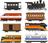 Train Locomotive Transportation Railway Transport