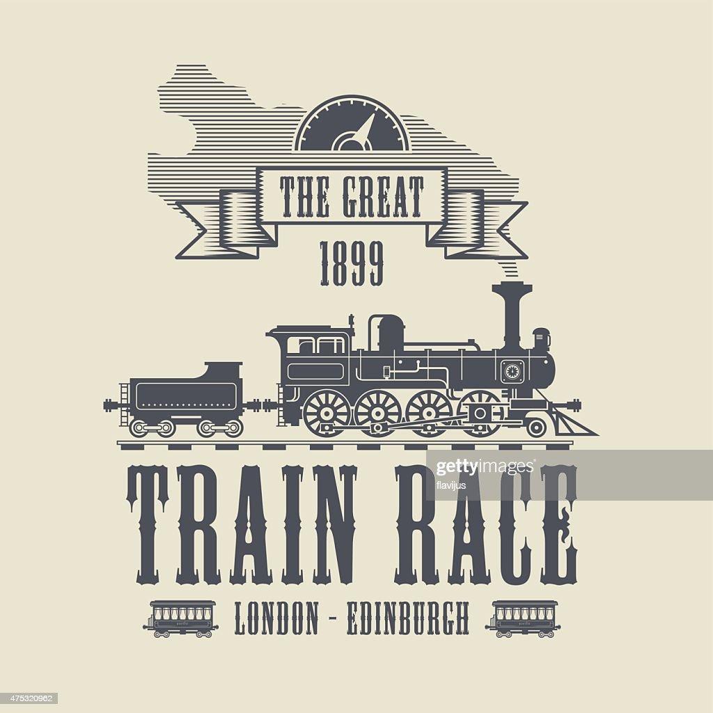 Train Race abstract