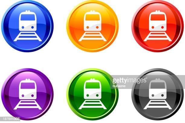 train railroad set in 6 colors