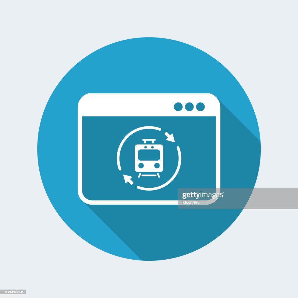 Train renovated services icon