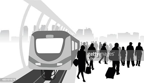 Train Station Traffic
