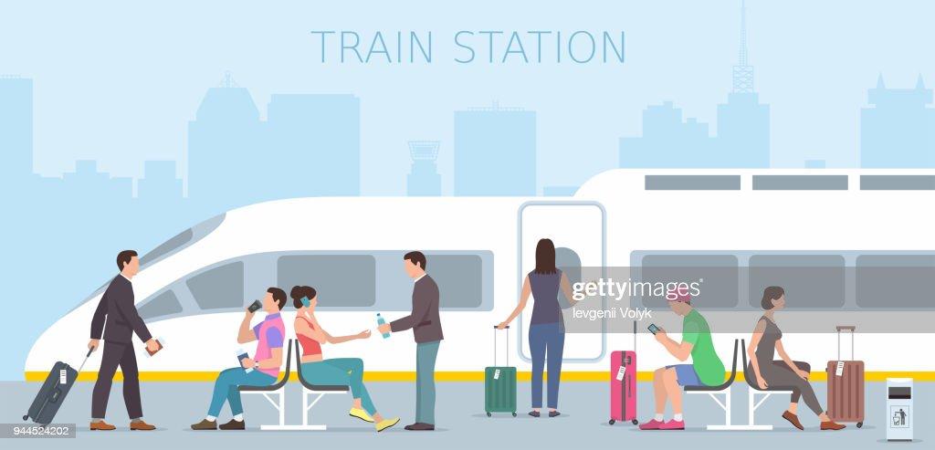 Train station. travel