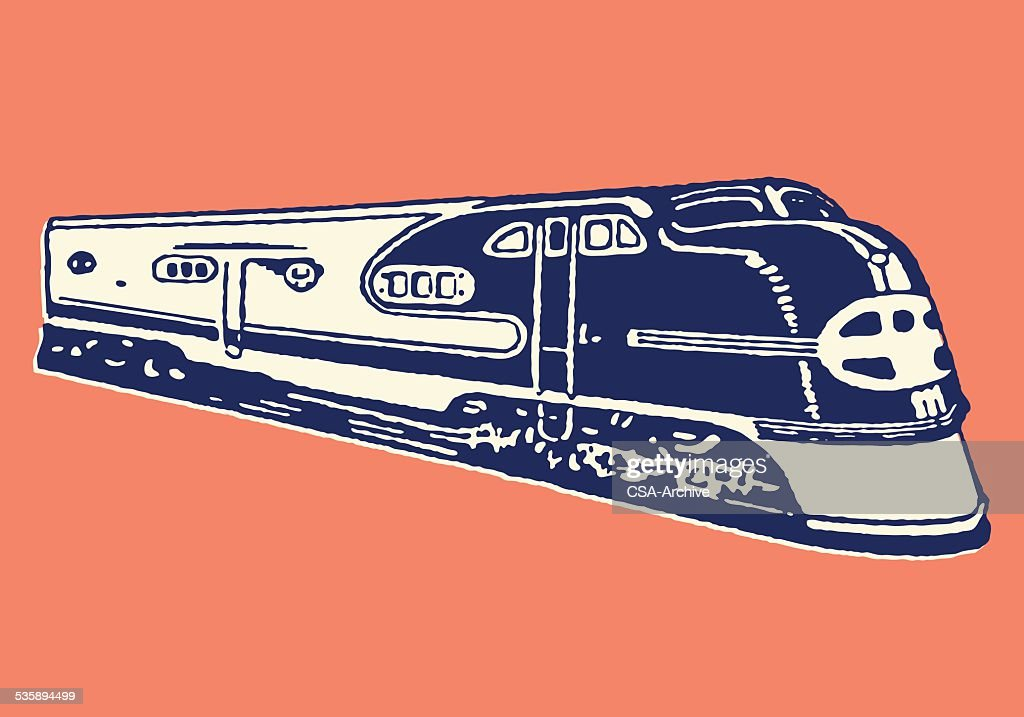 Train : Clipart vectoriel