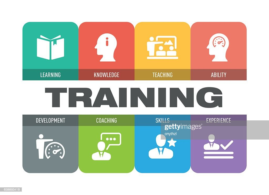 Training Icon Set