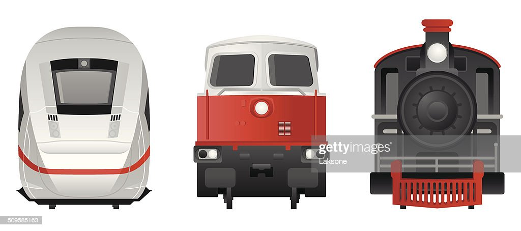 Trains - Frontview