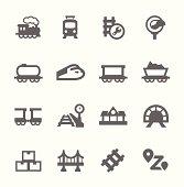 Trains Icons