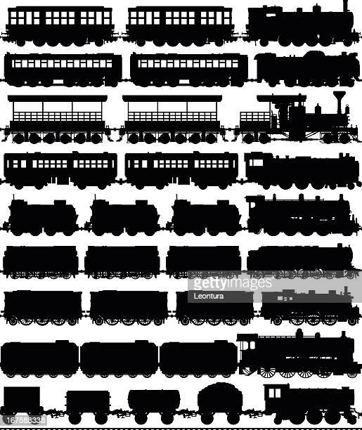 Trains (Carriages Can Easily Be Separated or Duplicated)