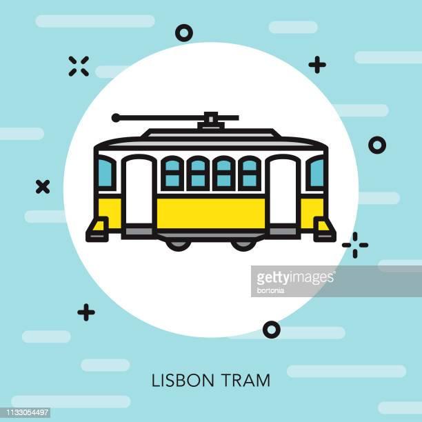16 Ilustracoes De Stock Clip Art Desenhos Animados E Icones De Lisboa Electrico Getty Images