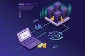 Transaction records of internet customer