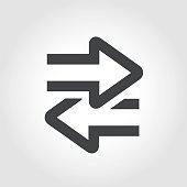 Transfer Icon - Iconic Series