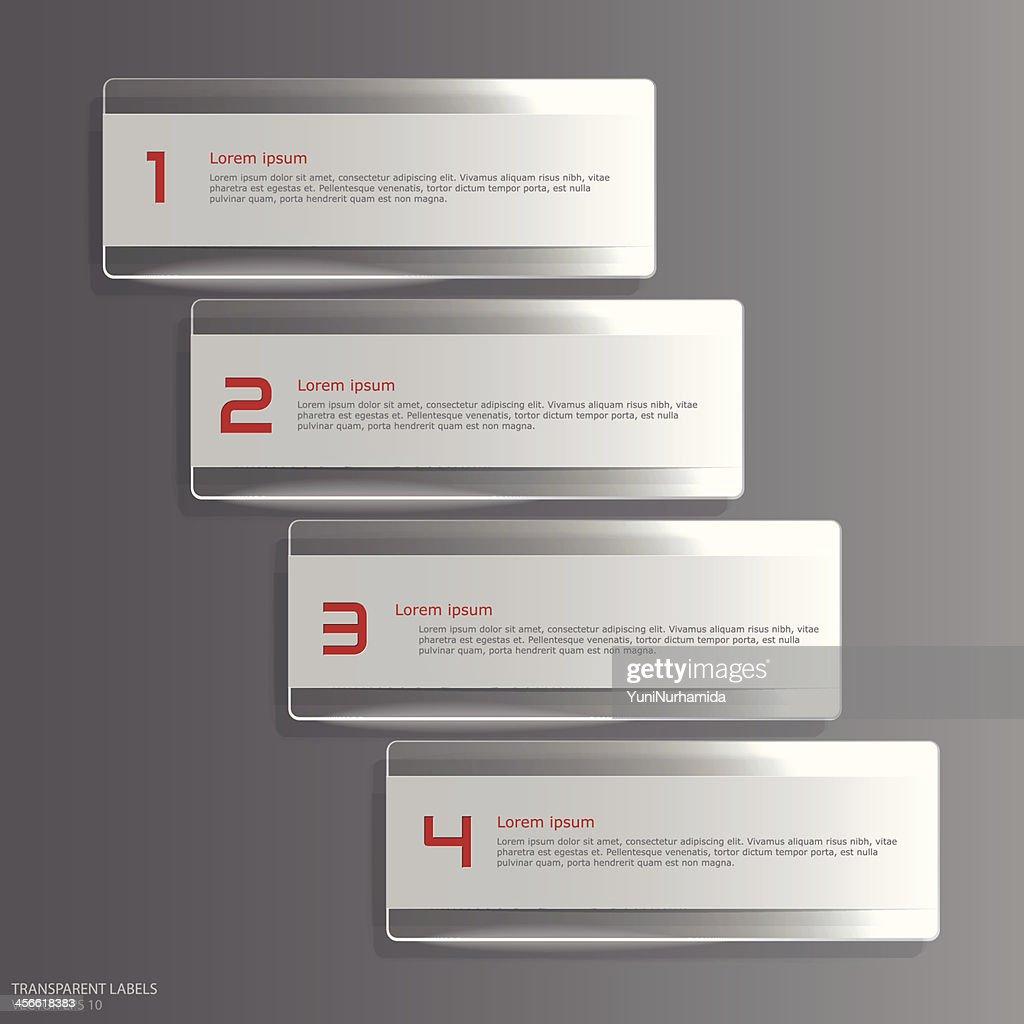 Transparent labels