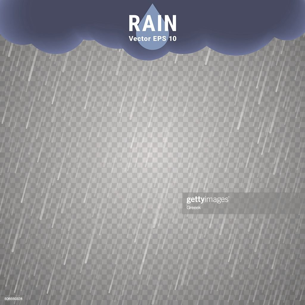 Transparent Rain Image