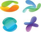 Transparent Vector Design Elements