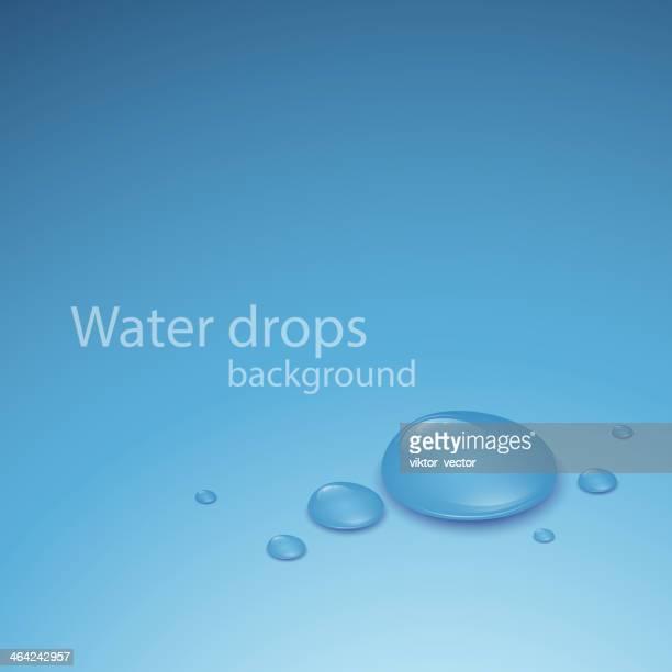 ilustraciones, imágenes clip art, dibujos animados e iconos de stock de transparente de agua gota.  ilustración vectorial - cristal material