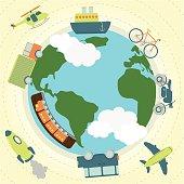 Transport around the world